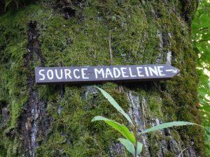 Mary Magdalene spring Rennes les Bains
