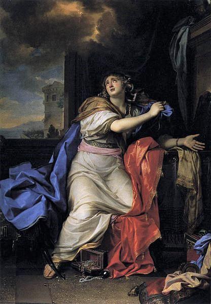 Mary Magdalene abandons her lifestyle scandalous
