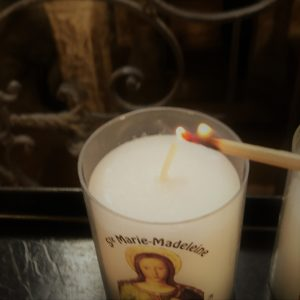 Light your candle to Mary Magdalene