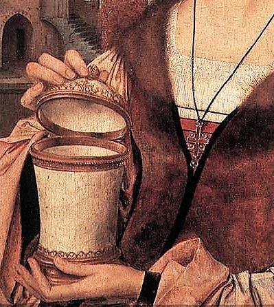 Mary Magdalene's jar of perfume